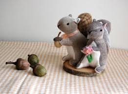 squirrel cake topper squirrel wedding cake images about squirrel cakes on sheet