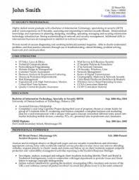 It Security Resume Examples by Resume Examples Appealing 10 Great Professional Resume Template