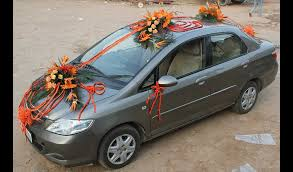 wedding car decoration 15 flowers delivery gurgaon