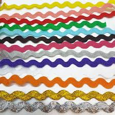 ric rac ribbon ric rac ribbon braid trimming ricrac metre choice of colours