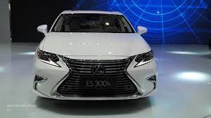 lexus cars 2015 2016 lexus es facelift is full of self esteem at auto shanghai