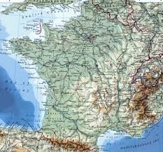 France Map With Cities by Large Detailed Map Of France With Cities