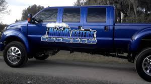 six door ford truck six door f650 pulls out of hornblasters com