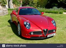 alfa romeo 8c an alfa romeo 8c competizione sports coupe motor car at the wilton