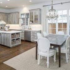 white antiqued kitchen cabinets distressed gray kitchen cabinets design ideas
