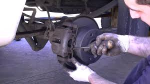 mercedes sprinter rear brakes part 2 youtube