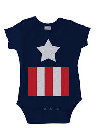 Halloween T Shirts For Toddlers by Captain America Costume Onesie Funny Baby Onesie Cute Baby Stuff