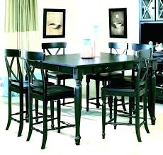 high dining room table sets high dining room tables rustic counter height dining table sets