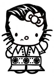 hk coloring pages coloring pages kitty