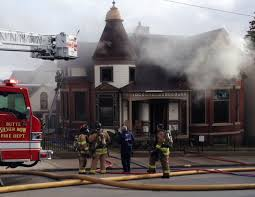 Queen Anne Style Home Fire Ravages Restored Queen Anne Style Home In Uptown Butte