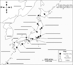 asia map with labels japan label me printout enchantedlearning