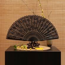 black lace fan popular black lace fan buy cheap black lace fan lots from china