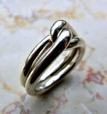 mens eternity rings knot ring infinity ring eternity men ring men silver