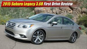 2015 subaru legacy rims 2015 subaru legacy 3 6r first drive review youtube