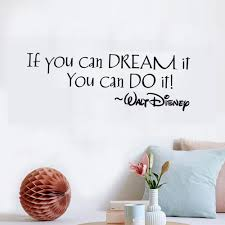 compare prices on wall decal quotes for kids online shopping buy if you can dream it you can do it quote baby room wall decals removable vinyl