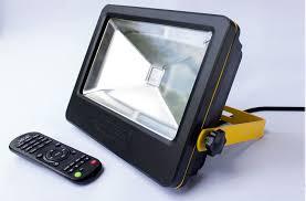 programmable led flood lights loftek 50w led floodlight remote controlled led outdoor flood light