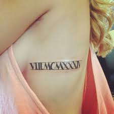 15 best roman numeral tattoos ideas designs and meaning styles