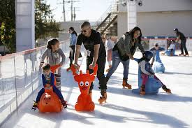 photo gallery the rink in downtown burbank opens for winter