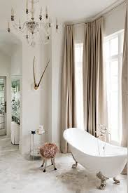 Chandelier Above Bathtub Home Design The Rustic And Traditional Kick Of Wilding Residence
