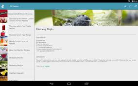 blueberry martini recipe cocktail recipes free android apps on google play