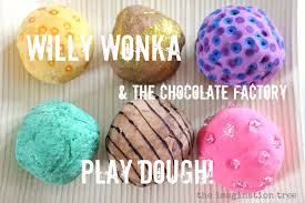 willy wonka and the chocolate factory play dough the