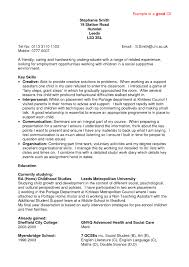 Examples Of Resumes by Proper Resume Example