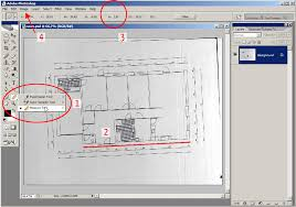 scaled floor plan tutorial rotate and scale a scanned floor plan in adobe photoshop