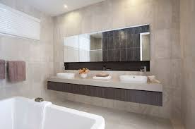 using large bathroom mirrors theplanmagazine com