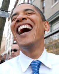 obama laughing political vel craft