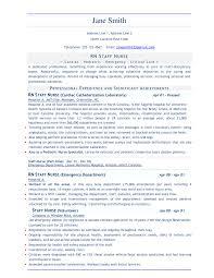 Resume Template For Nurses Free Resume Template Nursing Twhois Resume