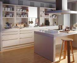 schner wohnen kchen küche mit geradlinigem design kitchen living room concept