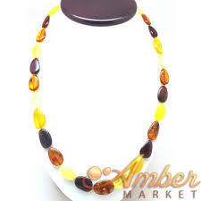 bead necklace long images Beads long amber necklace JPG