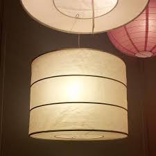 Wood Veneer Pendant Light Ikea Rutbo Turned Wood Veneer Pendant