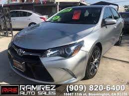 toyota credit bank used 2015 toyota camry xse in bloomington