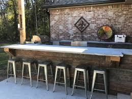 wood outdoor kitchen kitchen decor design ideas