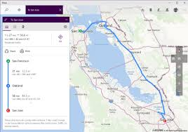 Maps Route by Windows Maps For Insiders Updated With Multi Stop Route Planning