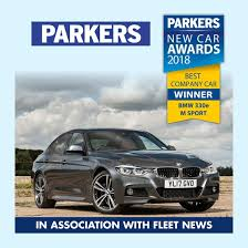 company car bmw bmw 330e named best company car by parkers manufacturer