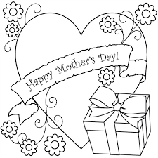 mother s day coloring sheet s day coloring page gift coloring book