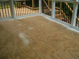 screen porch tile cdx subflooring flooring diy chatroom home