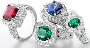coloured gemstone rings images A guide to coloured engagement rings the wedding planners blog