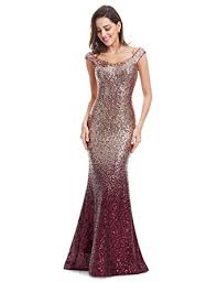 sequin dress pretty women sparkling gradual chagne gold sequin mermaid