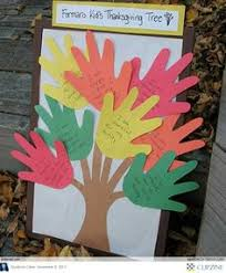 family handprint and footprint fall tree crafts in 2014