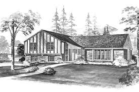 tudor style house plan 4 beds 2 5 baths 2193 sq ft plan 72 587