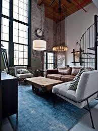 Living Room Brown Leather Sofa Furniture Small Industrial Living Room With Brown Leather Sofa