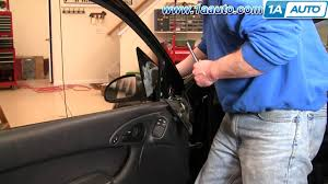 How To Install Repair Replace Fix Broken Side Rear View Mirror