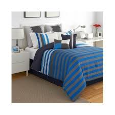 Blue Striped Comforter Set Kids Boys And Teen Bedding Sets U2013 Ease Bedding With Style