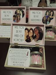 bridesmaids invitation boxes way to pop the question to your bridesmaids fill a decorated