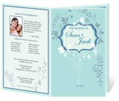 wedding program design template recession brings many benefits for brides to be for wedding