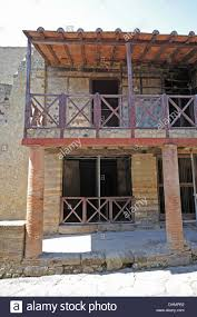 front of the trellis boarding house in herculaneum a two storey