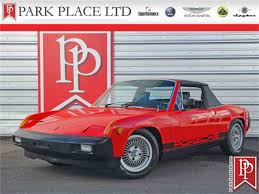porsche 914 race cars 1975 porsche 914 for sale classiccars com cc 1038391